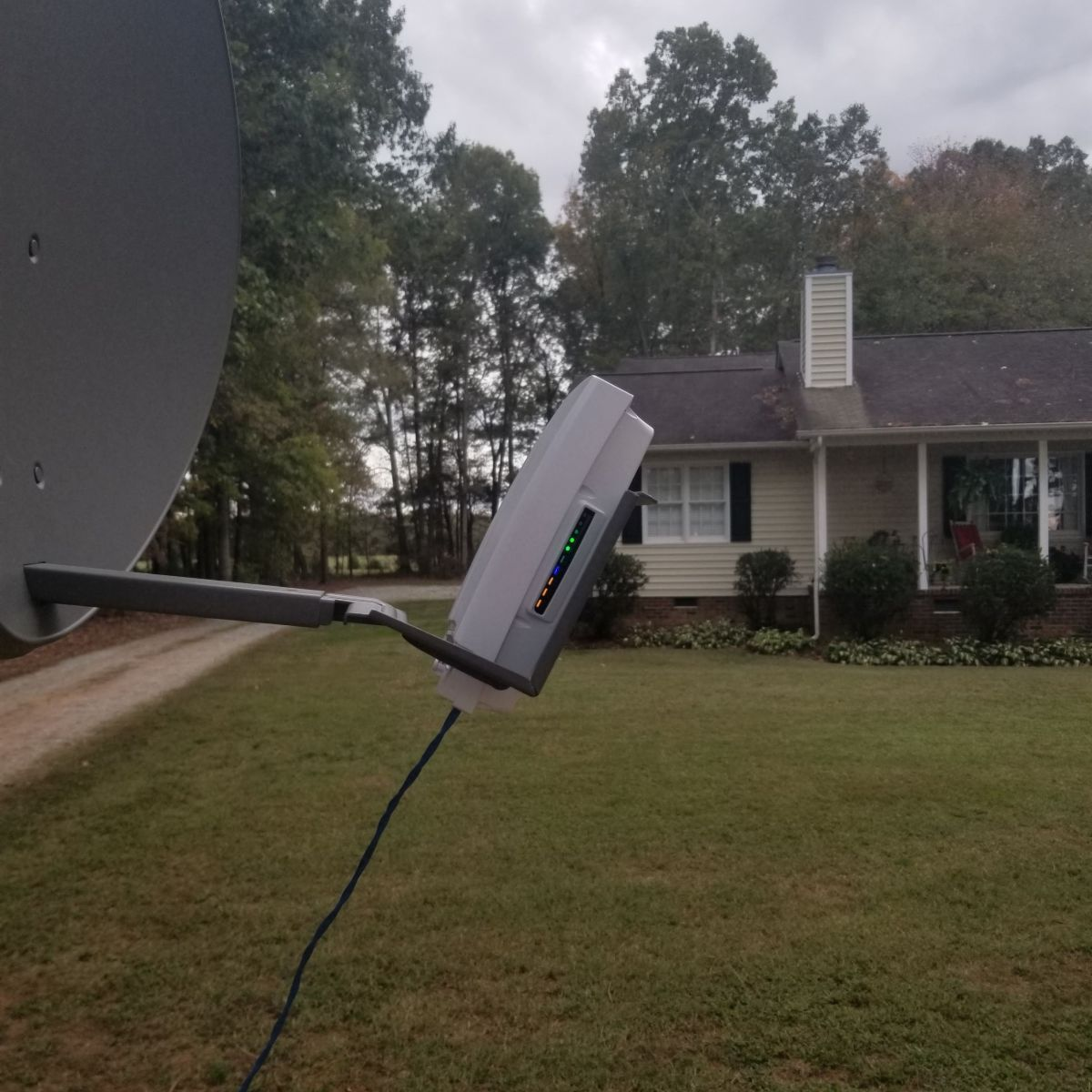 Successful fixed-wireless test