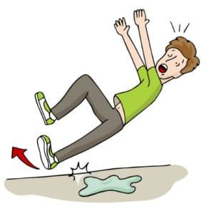 Our slip and fall accident lawyers in New Jersey list the 10 things to do after a slip-and-fall accident.