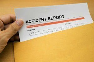 If someone is injured on an amusement park ride, they are required to file a special Written Report of Accident with the amusement park operator.