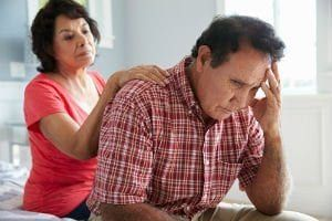 "The Alzheimer's Association reports that about 35 percent of caregivers for those with Alzheimer's report that ""their health has gotten worse due to care responsibilities."