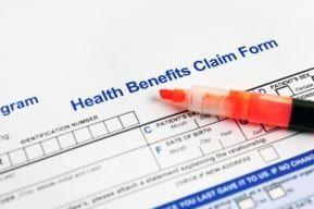 A New Jersey worker's comp claim form