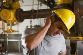 New Jersey construction worker in pain after an accident that may require a personal injury lawyer