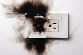 Electrical outlet is the source of a New Jersey electrical burn accident
