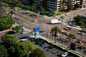 A van is involved car accident at an intersection requiring the help of an experienced New Jersey attorney