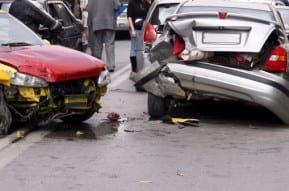 New Jersey rear-end collision results to severe damage on both cars.