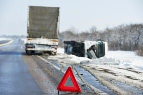Truck driver negligence is the main cause of trucks flipping off the road in New Jersey.