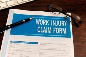 The Work Injury Claim Form is for workers' claims in case of a truck accident in New Jersey.