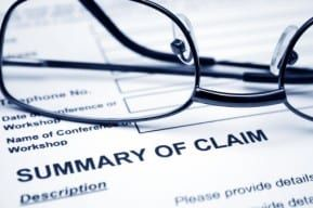 Claim form used for New Jersey wrongful death trucking claims