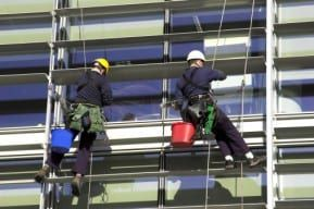 Employees that work outside the buildings are more prone to scaffolding accidents.