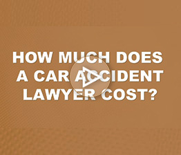 How Much Does a Car Accident Lawyer Cost? | Auto Accident FAQ