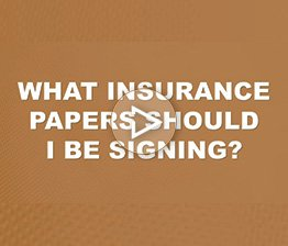 What Insurance Papers should I be Signing? | Auto Accident FAQ