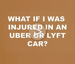 What if I Was Injured in an Uber or Lyft Car? | Auto Accident FAQ