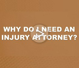 Davis Saperstein & Salomon, P.C. FAQ video image titled Why Do I Need an Injury Attorney