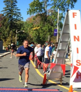 Finish Line at Helen Hayes Hospital Race