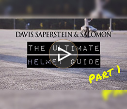 Image from Davis Saperstein & Salomon, P.C. video discussing the importance of helmet safety in New Jersey.