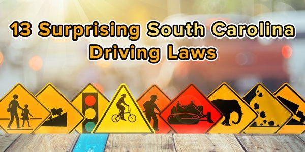 Suprising South Carolina Driving Laws
