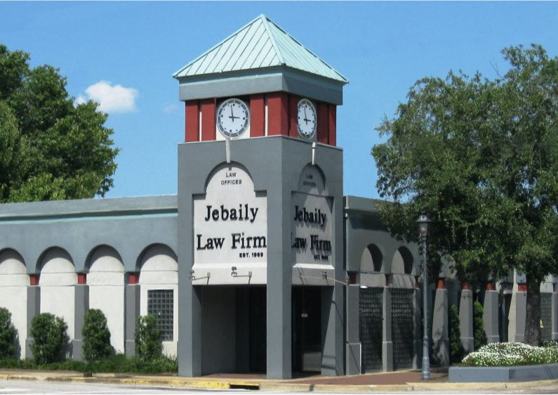 Jebaily Law Firm office exterior