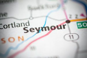 Seymour, Indiana on a map