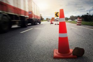 construction zone truck accident