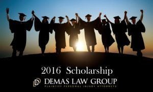 Demas Law Group Scholarship