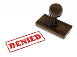 Denied Personal Injury Claim