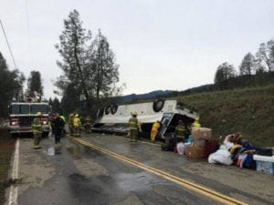 Bus Accident in Sacramento