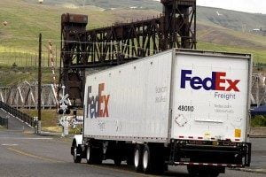 FedEx Accident in Sacramento