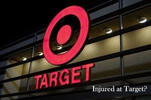 Injured at Target Sacramento