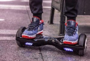 Hoverboard Accident Victim