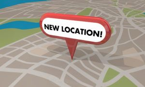 New Location Pin Map 3d Illustration