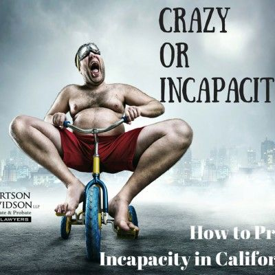 adult riding an child's bicycle - crazy or incapacity?