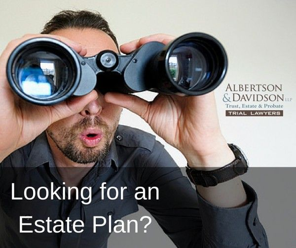 man looking for an estate plan
