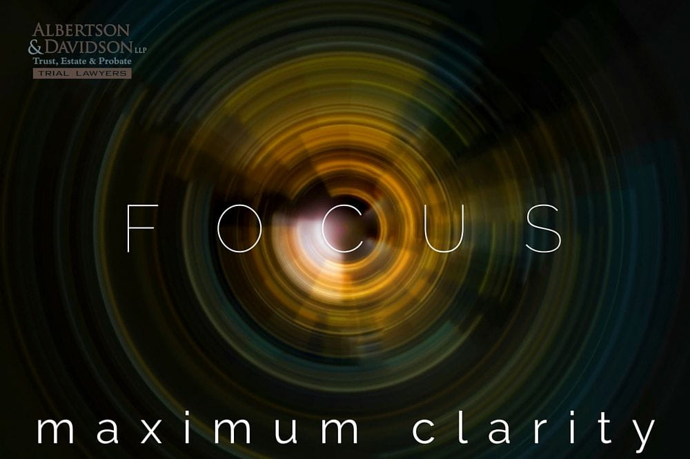 FOCUS - maximum clarity