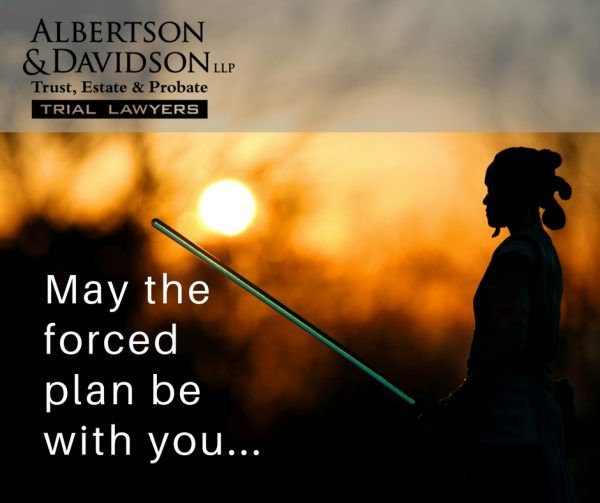 Jedi: May The Forced Plan be with You