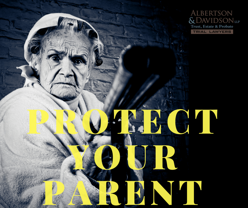 parent who needs trust protection
