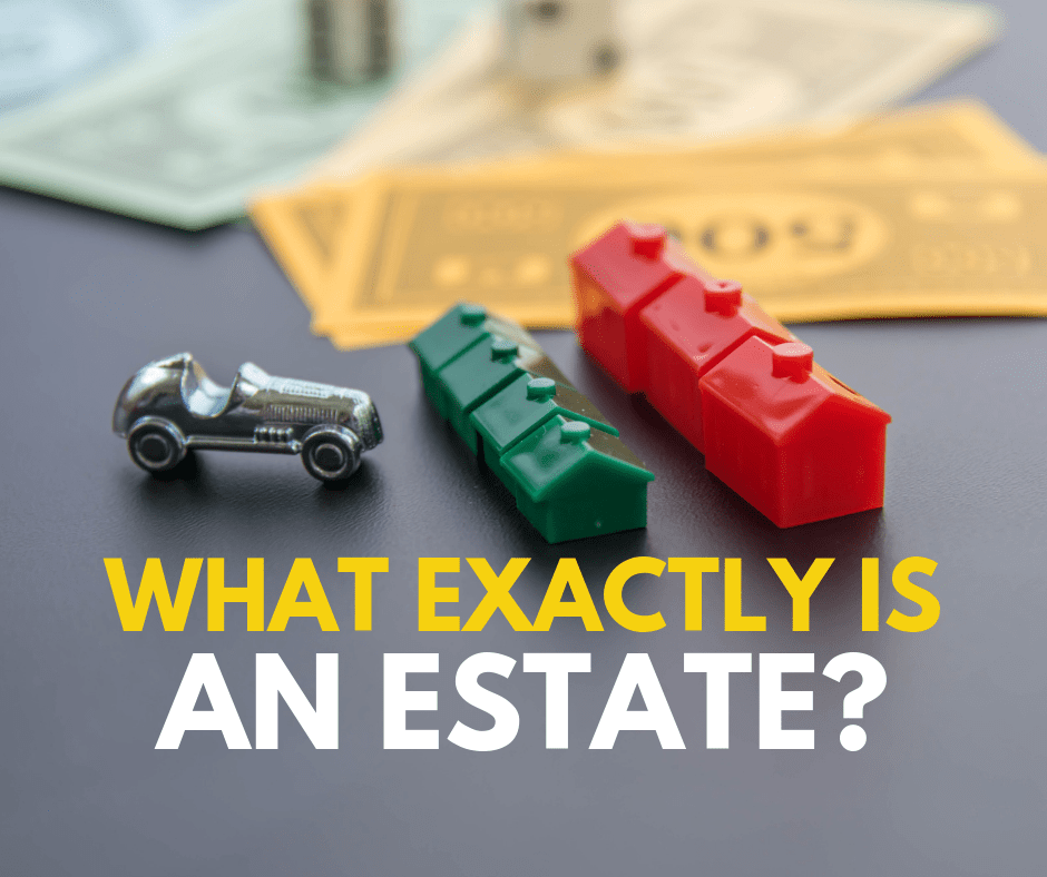 What is an estate made up of?