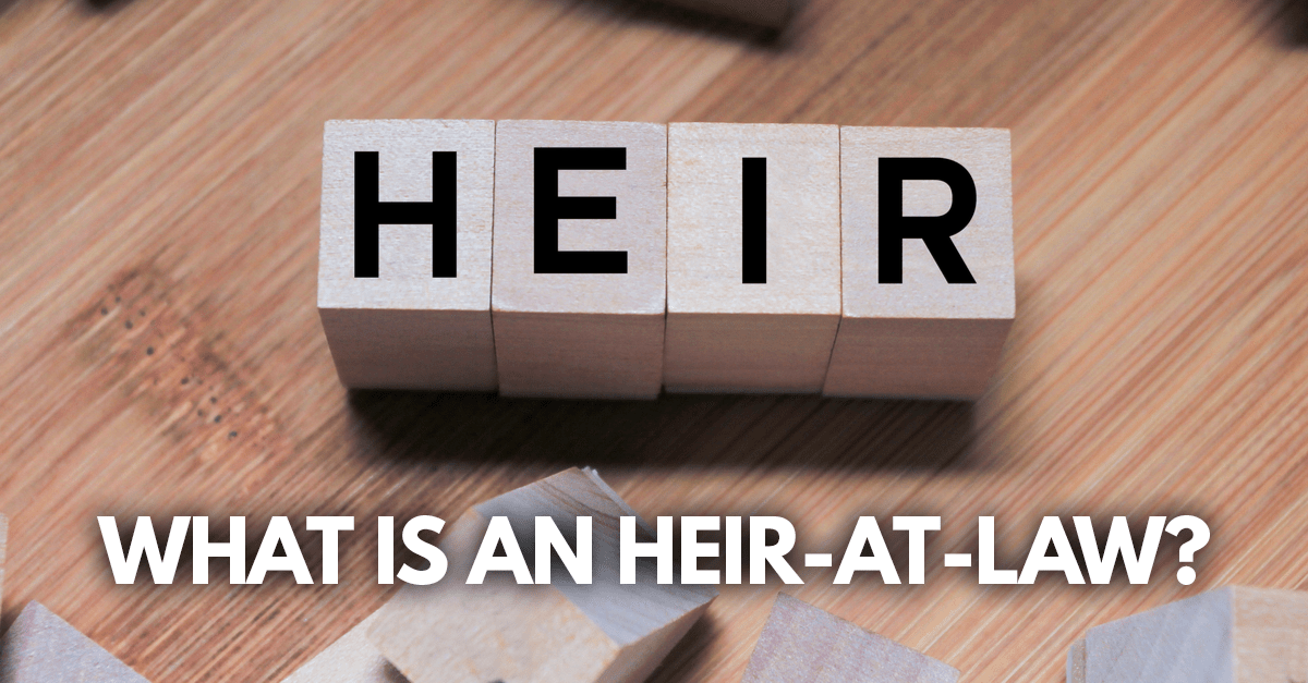 what is an heir-at-law