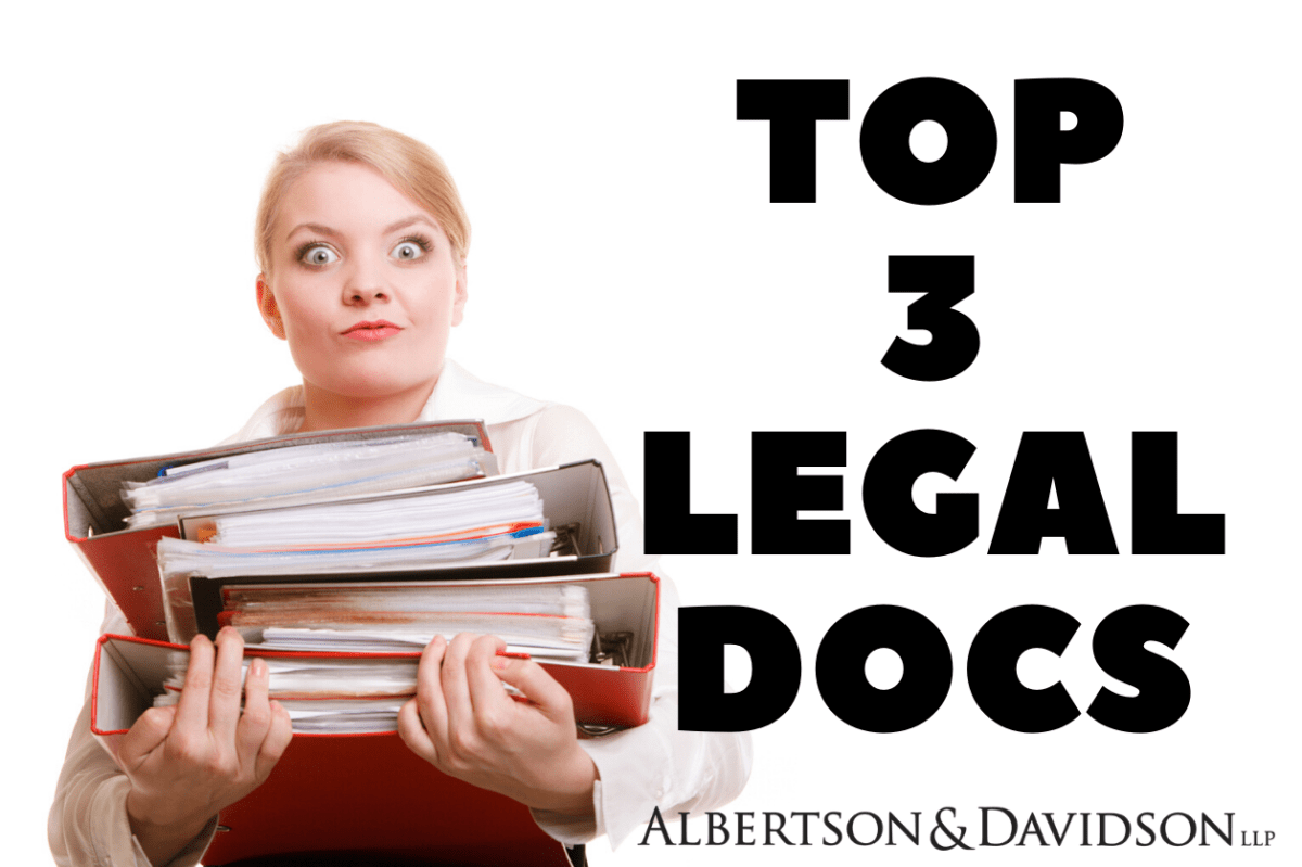 Legal Documents You Need in an Emergency