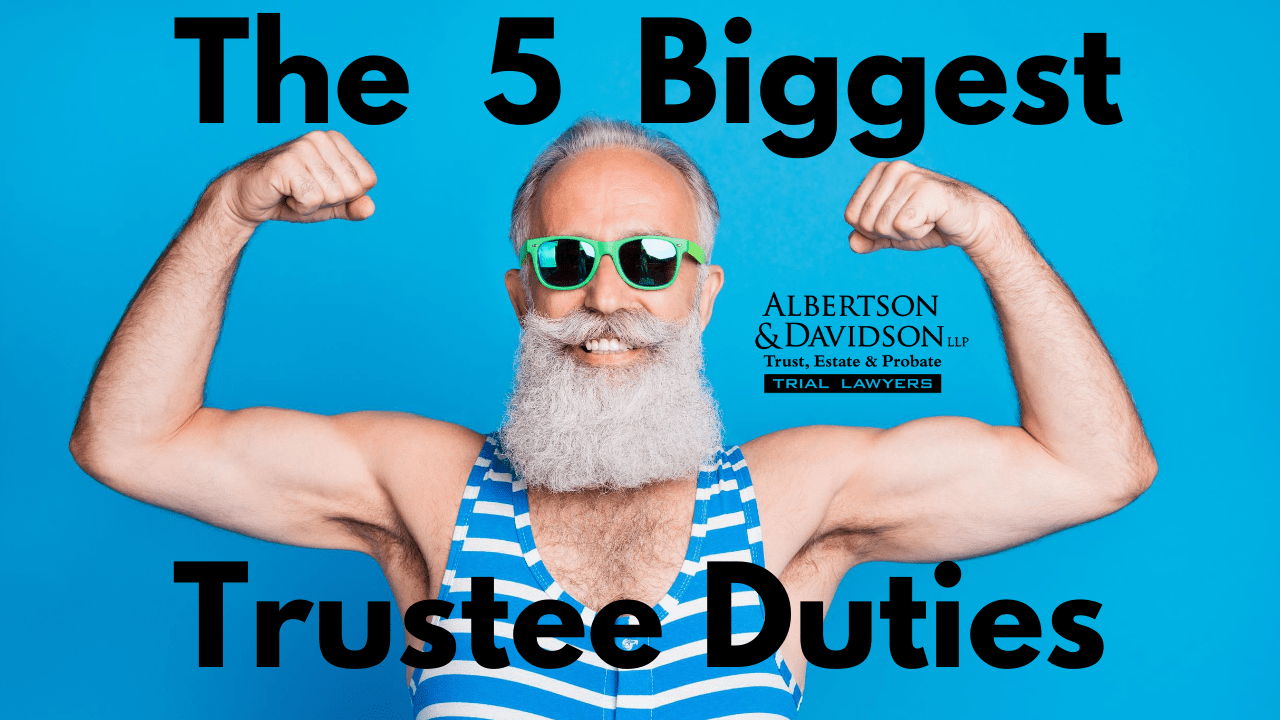 Top five trustee duties