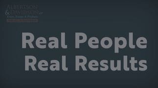 Real Clients, Real Results: What do you think of Albertson & Davidson, LLP?