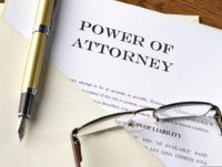 power of attorney document