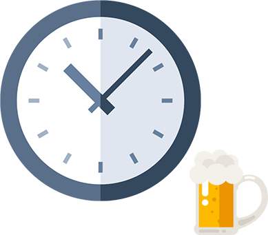 Clock and Beer