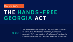 Infographic The Hands Free Georgia Act Champion Firm P C