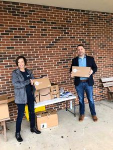 The Champion Firm Laptop Donation - COVID-19