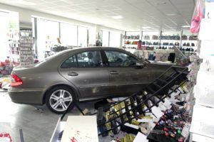 Car Crashes into Building - Pedestrian Accident Lawyer in Atlanta - The Champion Firm