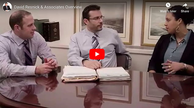 learn more about the New York City personal injury attorneys at David Resnick & Associates, P.C.