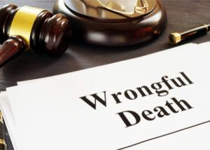 legal claim issued a wrongful death attorney