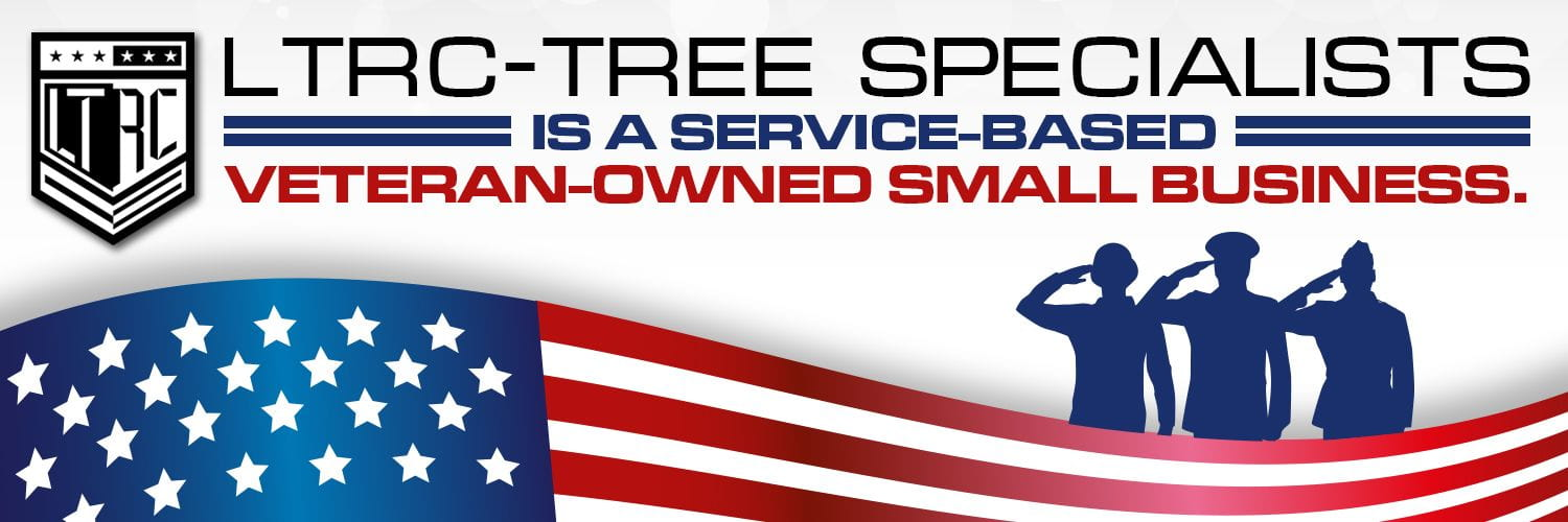 LTRC tree specialists - black logo with tag line