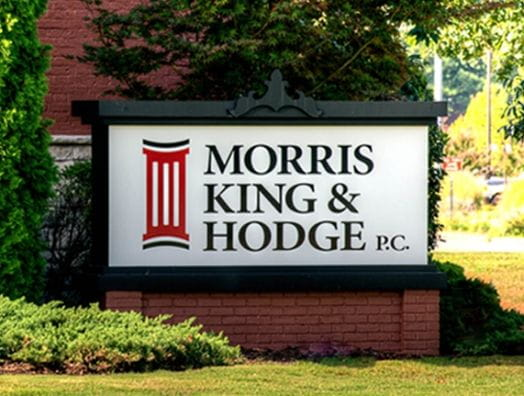 morris king hodge sign