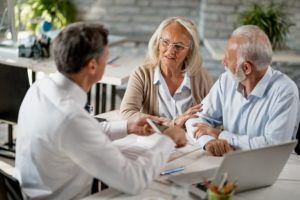 receiving counseling on estate planning